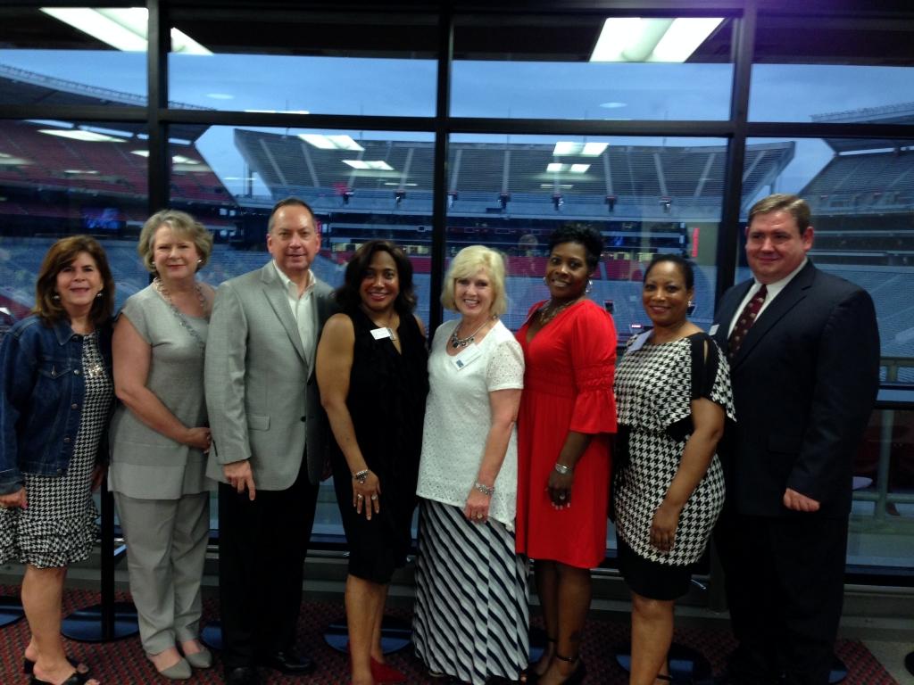 Alumni Workshop attendees July 2014.