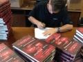 Lars signing 2