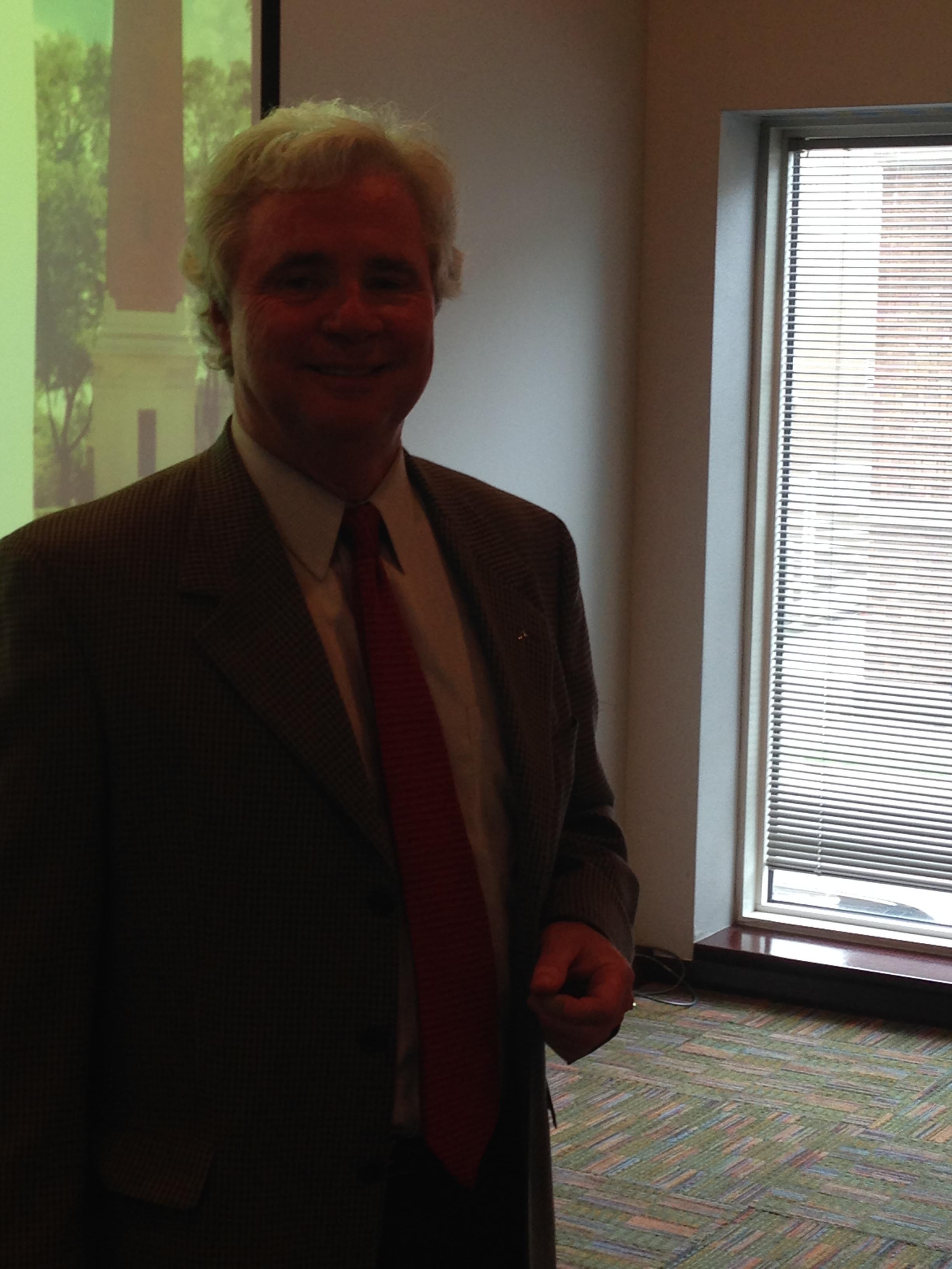 Bill Elrod, May 2014